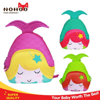 NOHOO Kid Little Mermaid 3D Design School Bag Waterproof Preschool Backpack Bags