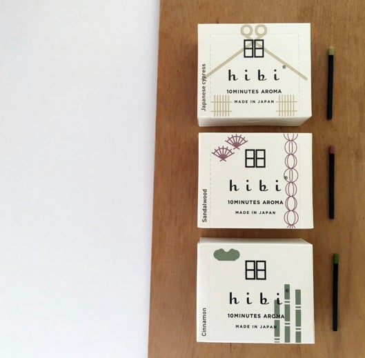 HIBI 10 MINUTE INCENSE TRADITIONAL SCENT - LARGE BOX