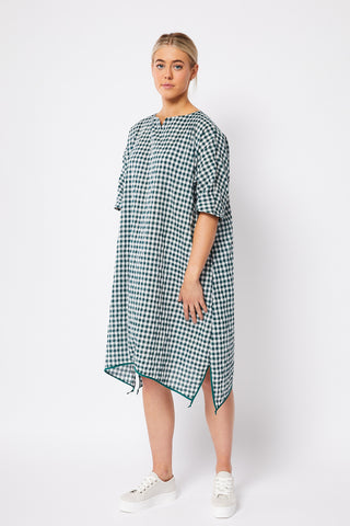 MT FUJI | BOTTLE GREEN GINGHAM