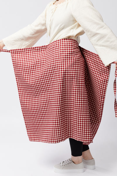 NARA SKIRT | BEETROOT BASKET