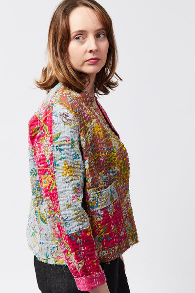 KANTHA CROPPED JACKET