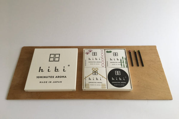 HIBI 10 MINUTE INCENSE TRADITIONAL SCENT - GIFT BOX