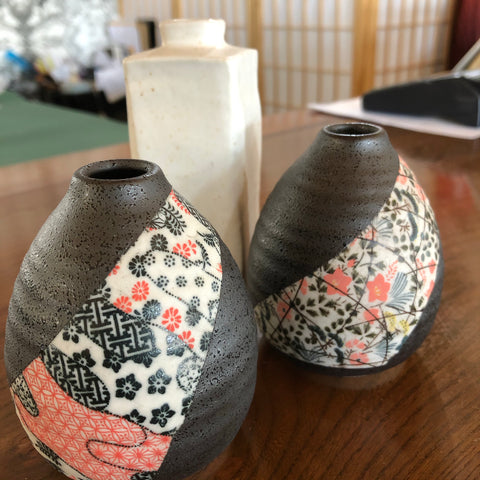 JAPANESE CERAMIC VASES