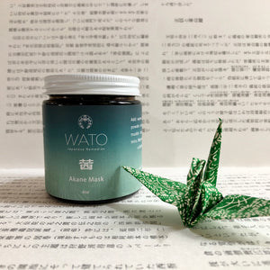 WATO JAPANESE REMEDIES AKANE FACE MASK