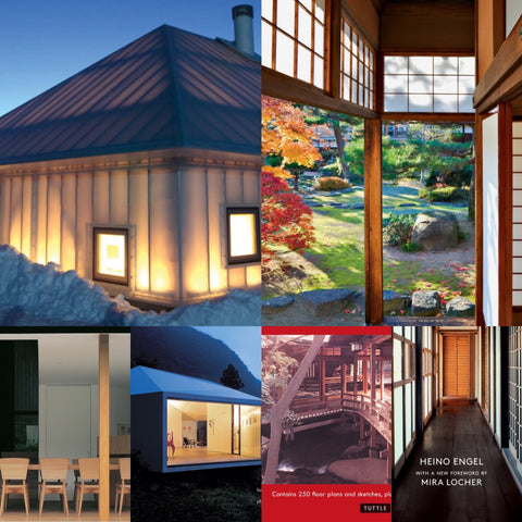BOOKS ABOUT JAPAN'S ARCHITECTURE, INTERIORS AND DESIGN
