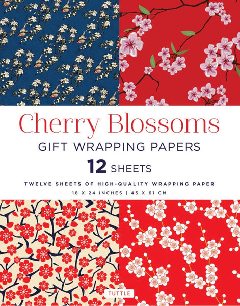 WRAPPING PAPERS X 12 SHEETS