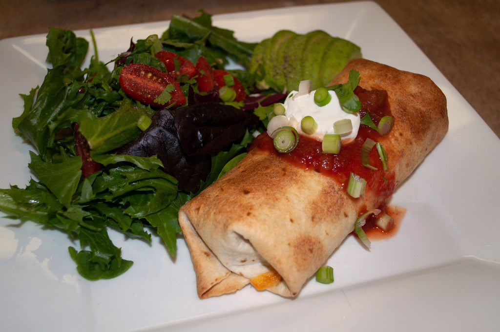 Air Fryer Wild Game Chimichangas