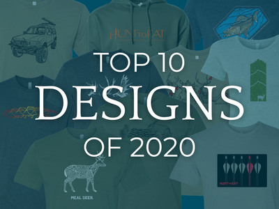 Top 10 Hunt to Eat Designs of 2020