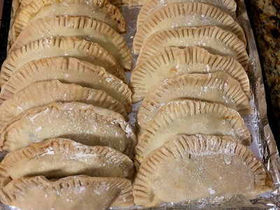 Elk Heart and Tongue Empanadas