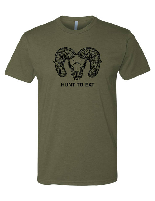 Carved Big Horn T-Shirt