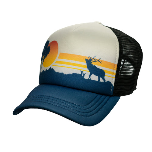 Elk Sunset Foamy Hat