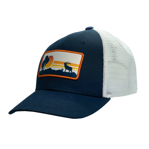 Elk Sunset Patch Hat