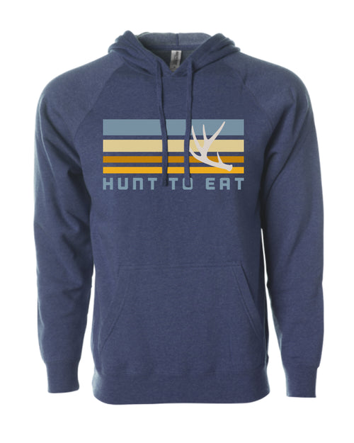 Whitetail Antler Hooded Sweatshirt