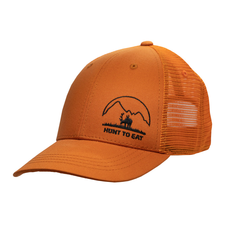 Meadow Mountain Orange Hat