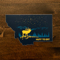 Big Sky Sticker