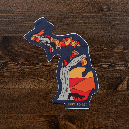 Michigan Mitten Sticker