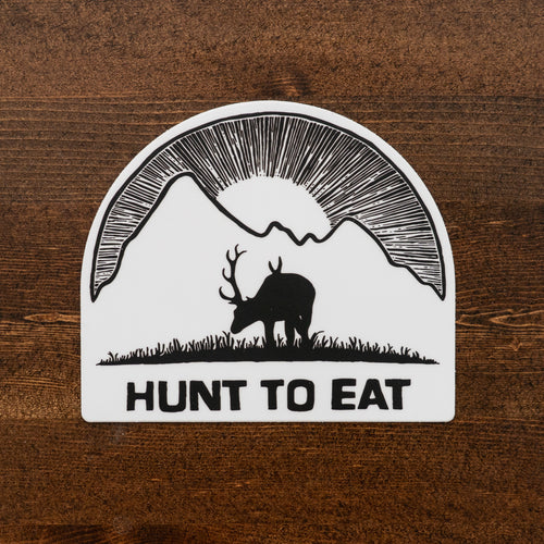 Carved Meadow Mtn Sticker