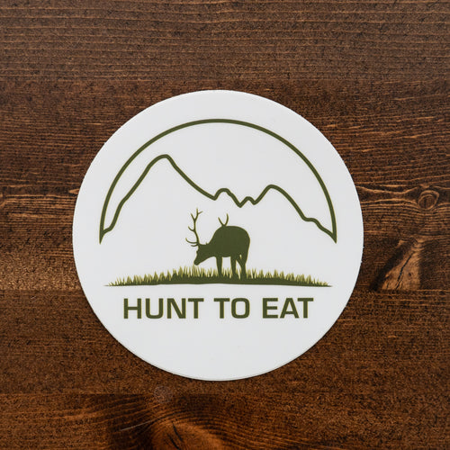 Meadow Mountain Elk Sticker