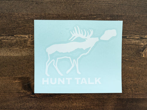Hunt Talk Sticker