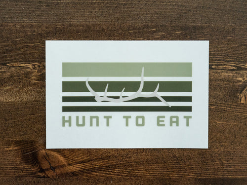 Elk Antler Sticker
