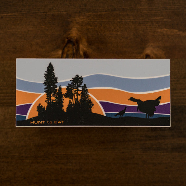 Sunrise Gobbler Sticker
