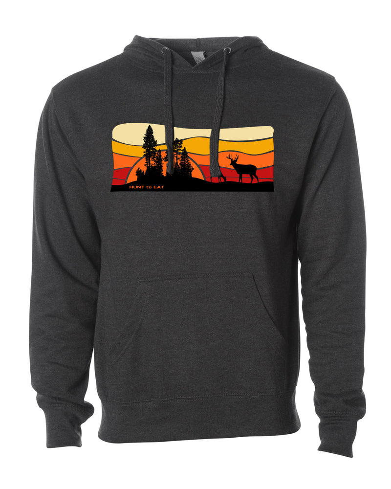 Sunrise Whitetail Hooded Sweatshirt