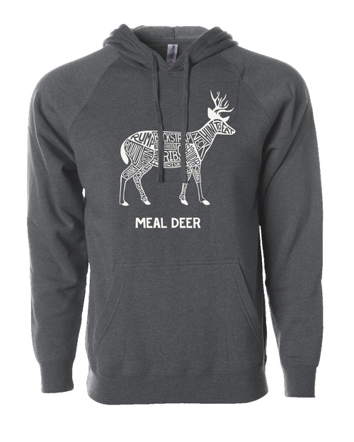 Meal Deer Hooded Sweatshirt