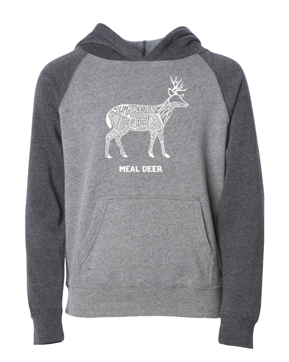 be7b62c47bf5 Kids  Meal Deer Hooded Sweatshirt – Hunt To Eat