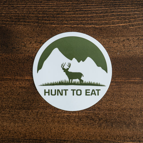 Meadow Mountain Mule Deer Sticker