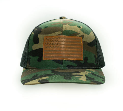Fresh Tracks Flag - Trucker Hat