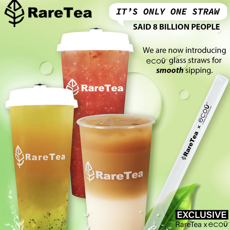 Glass Boba Straw - RARETEA DIY SHOP