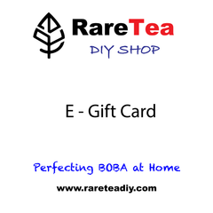 E-Gift Card - RARETEA DIY SHOP