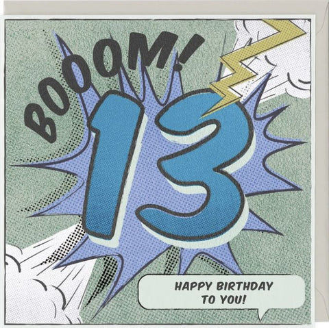 Boom! 13 Happy Birthday to You
