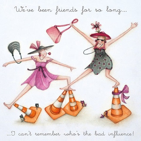 We've Been Friends for so Long.... Greeting Card from Berni Parker
