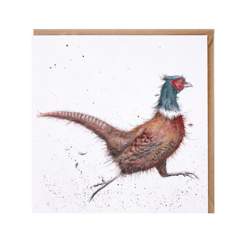 Game Bird Greeting Card from Wrendale Designs.