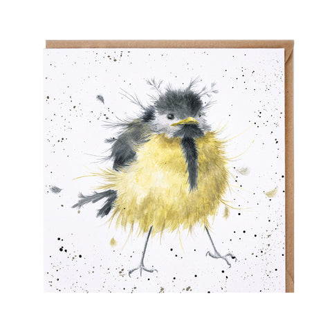 A Little Birdie Greeting Card from Wrendale