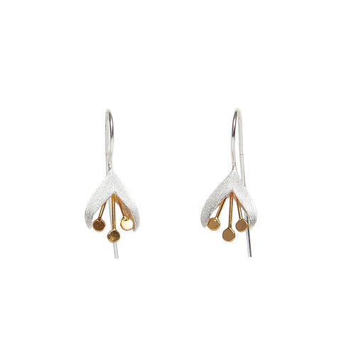 Christin Ranger Sterling Silver Snowdrop Earrings