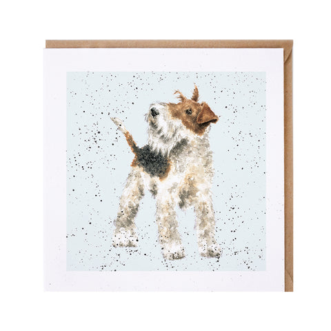 Airedale Greeting Card from Wrendale