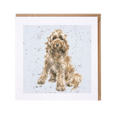 Cockapoo Greeting Card from Wrendale
