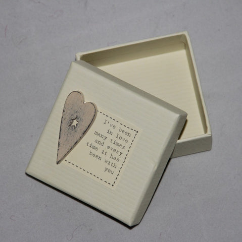 East of India Heart Gift Box