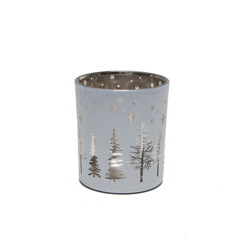 Heaven Sends White and Gold Tree T-Light Holder