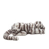 Jellycat Sacha the Snow Tiger (Small) side view