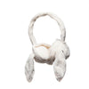 Jomanda Cream Bunny Earmuffs Side View