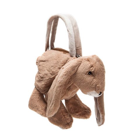 Jomanda Soft Brown Bunny Handbag
