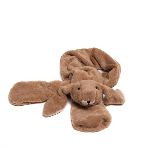 Jomanda Soft Brown Bunny Scarf