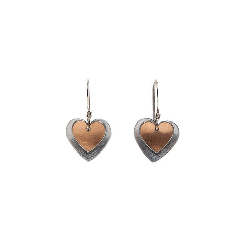 Kate Hamilton-Hunter Double Heart Earrings