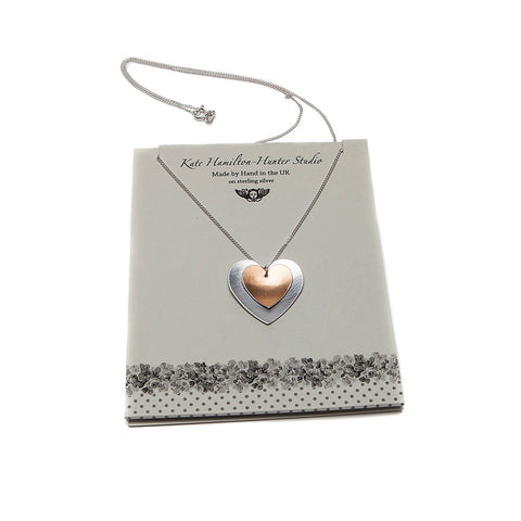Kate Hamilton-Hunter Double Heart Necklace