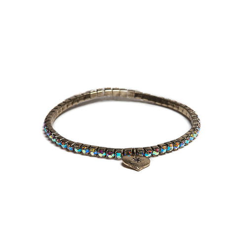 Lovett AB Swarovski Crystal Stretch Bracelet