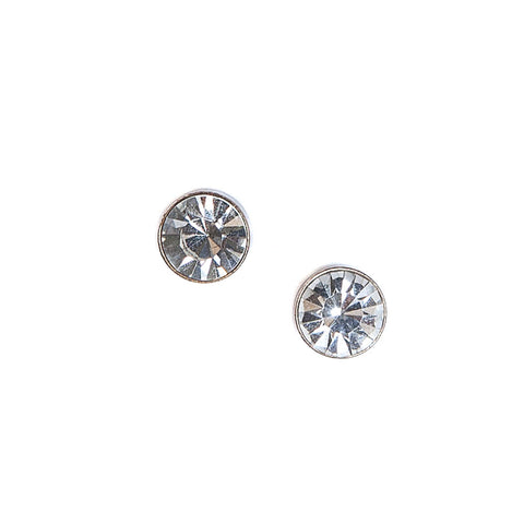 Lovett Clear Crystal Stud Earrings