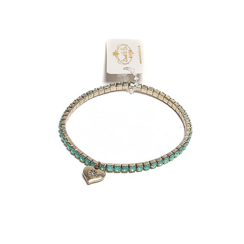 Lovett Green Swarovski Crystal Stretch Bracelet